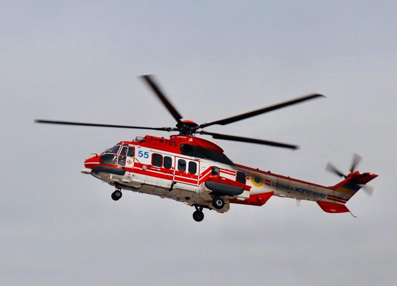 Пополнение: у спасателей Черниговщины стало на 1 вертолет больше, фото-1