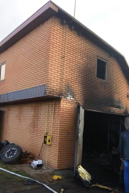 Пожежа в гаражі: на Чернігівщині згорів автомобіль, фото-2