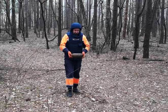 Опасная находка: житель Черниговщины нашел снаряд времен Второй мировой войны, фото-2