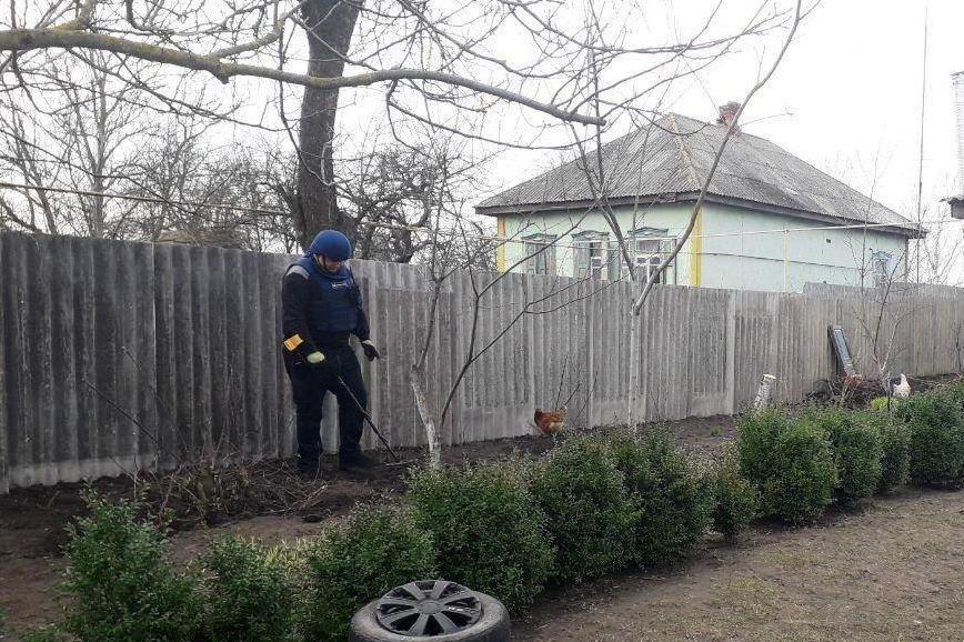В нескольких метрах от жилого дома: на Черниговщине нашли снаряды времен Второй мировой, фото-1