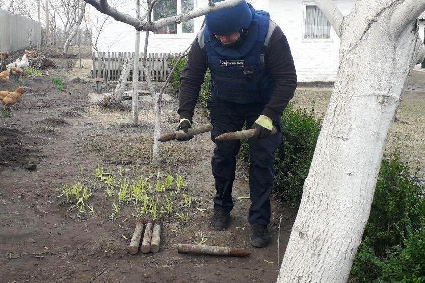 В нескольких метрах от жилого дома: на Черниговщине нашли снаряды времен Второй мировой, фото-3