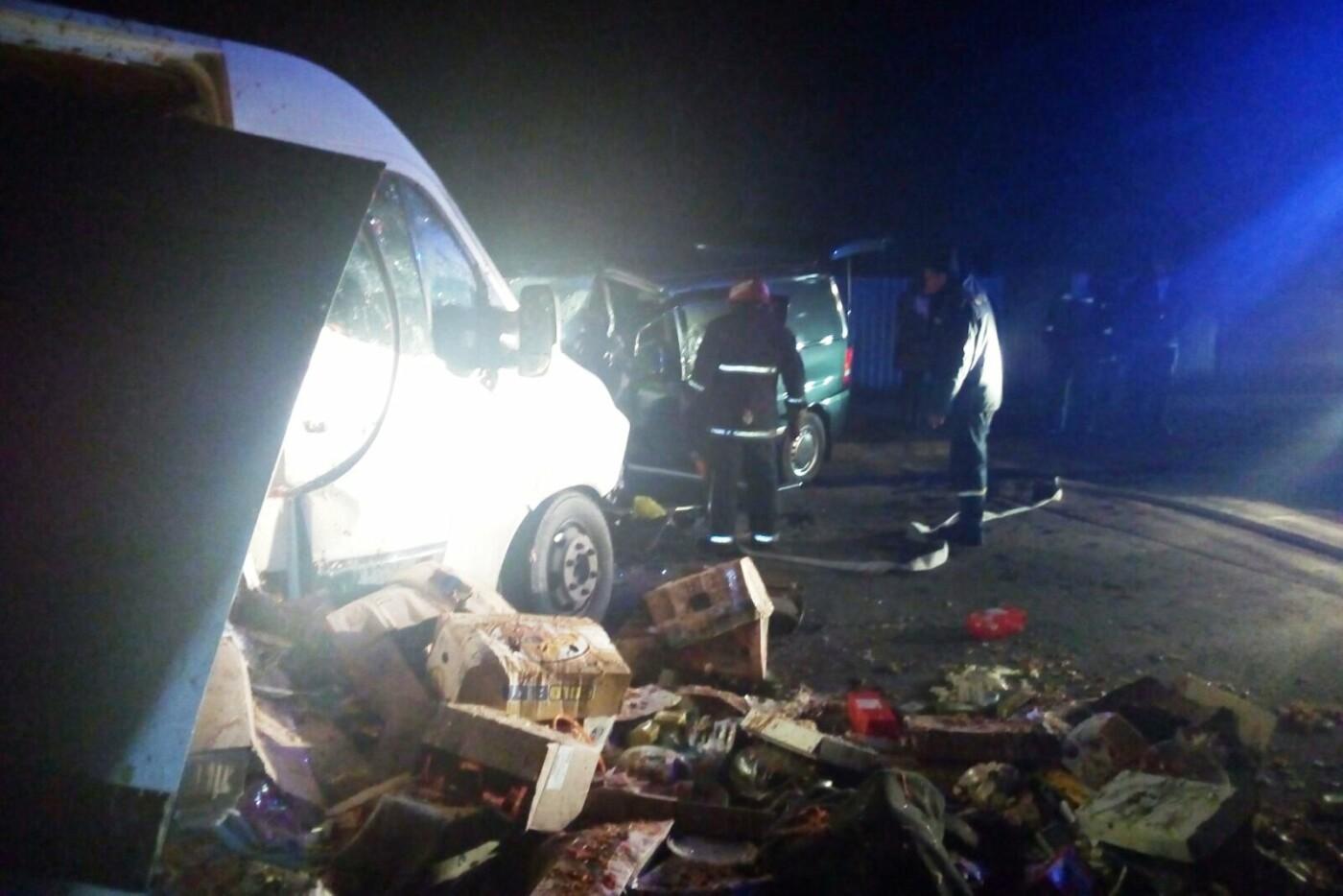 Лобовое столкновение, авто вдребезги и смерть водителя: ДТП на Черниговщине, фото-4