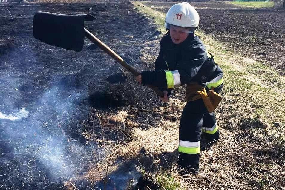 Через людську необережність на Чернігівщині продовжують горіти поля, фото-1
