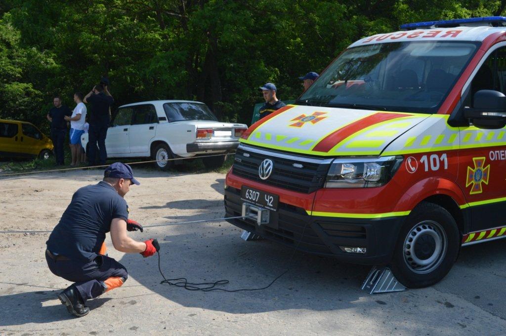 У Стрижні втопили іномарку: залучались рятувальники, фото-2