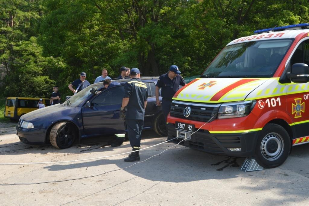 У Стрижні втопили іномарку: залучались рятувальники, фото-8