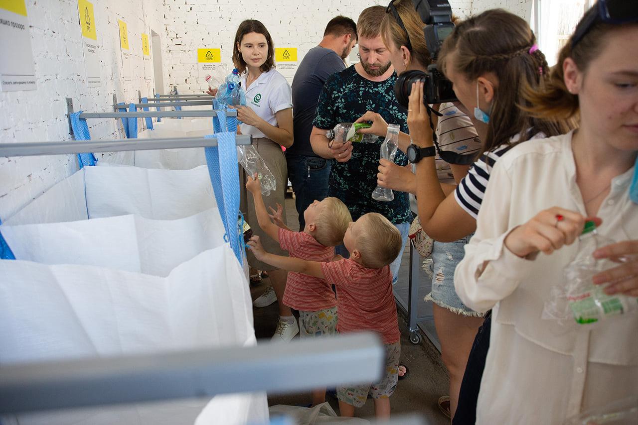 У Чернігові відкрили освітню сортувальну станцію вторсировини: вже є перші результати (ВІДЕО), фото-10