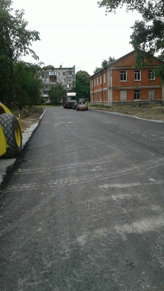 На частині нової дороги на Шерстянку вже з'явився асфальт, фото-1