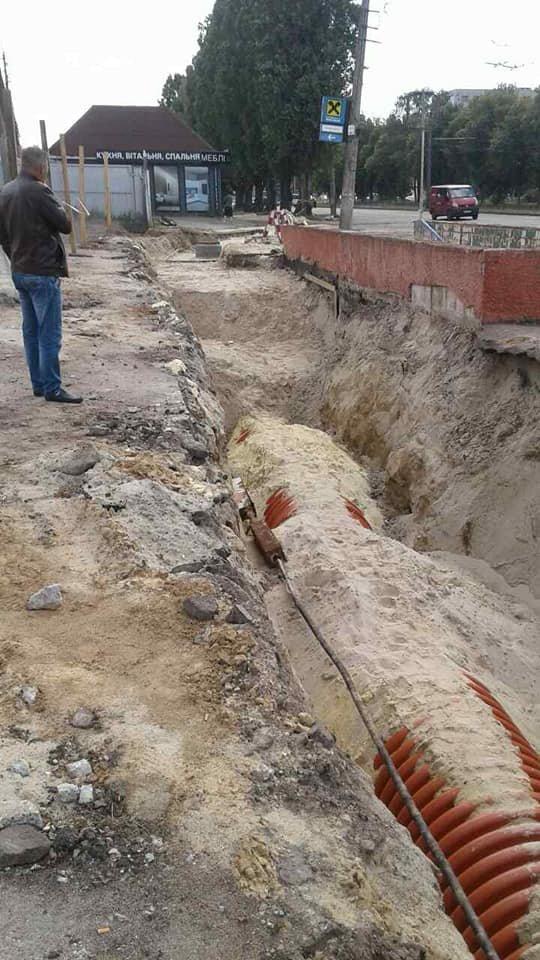 На частині нової дороги на Шерстянку вже з'явився асфальт, фото-6