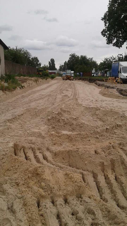 На частині нової дороги на Шерстянку вже з'явився асфальт, фото-3