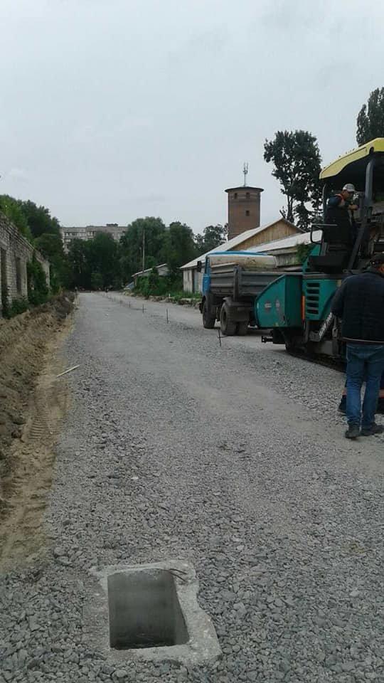 На частині нової дороги на Шерстянку вже з'явився асфальт, фото-5