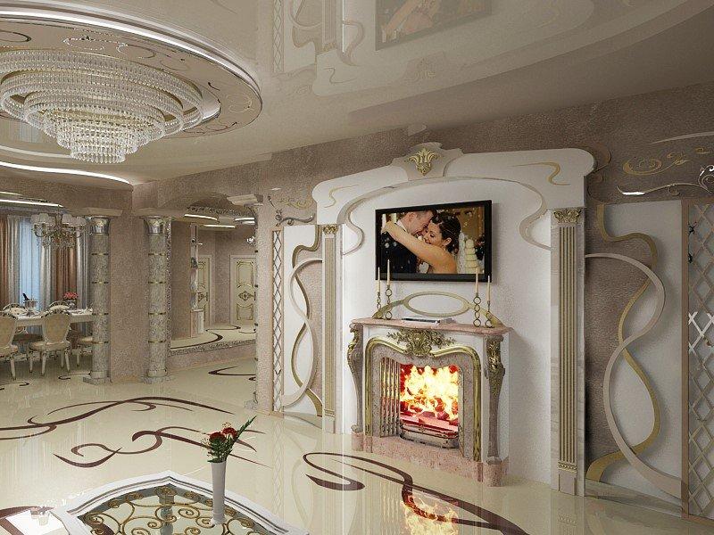 Современный дизайн интерьера от студии Романа Москаленко , фото-1