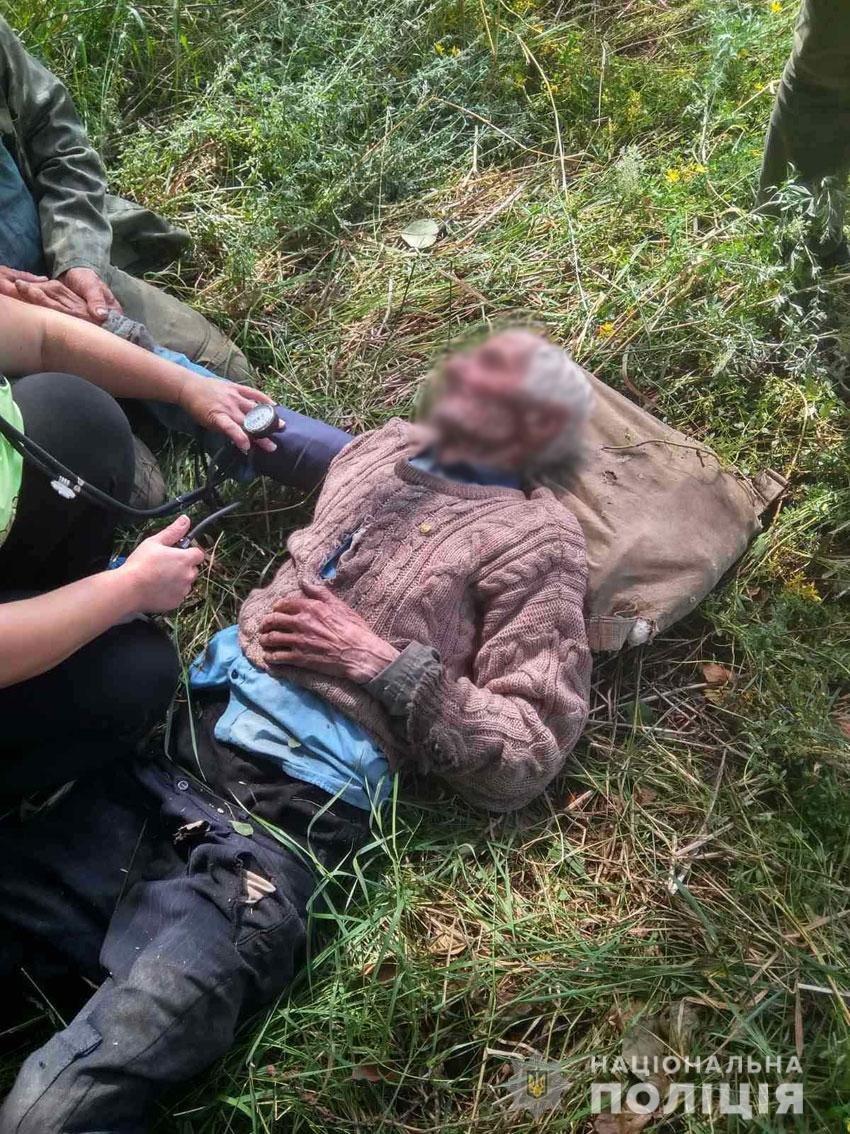 У лісі під Черніговом знайшли 94-річного дідуся, фото-1