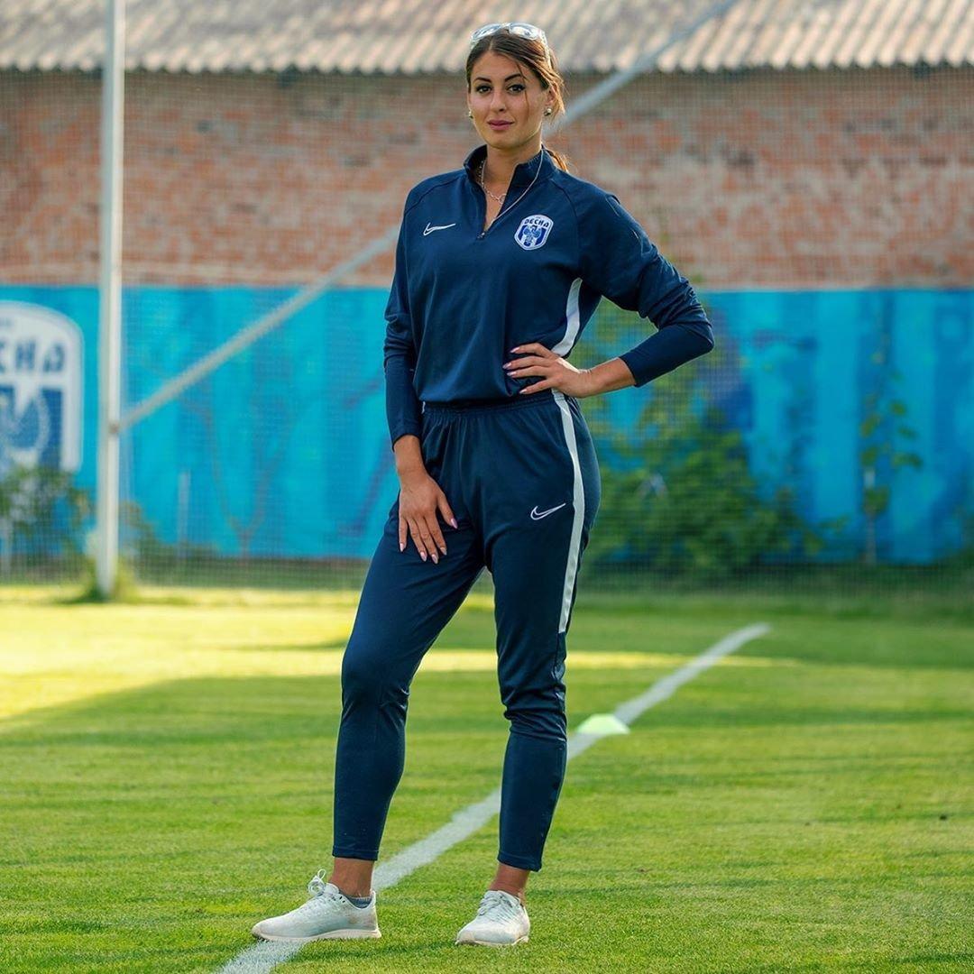 Олімпійська легкоатлетка з Чернігова стала футбольним тренером, фото-3