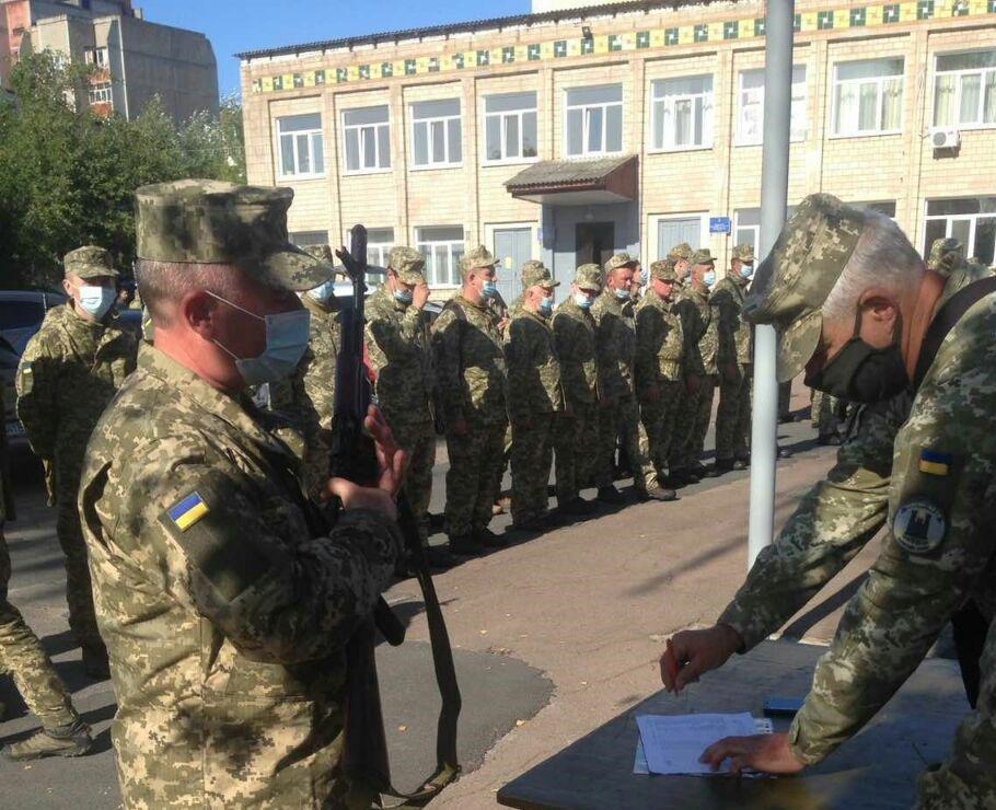 На Чернігівщині проходять військові збори територіальної оборони, фото-3