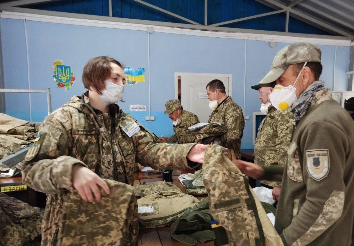 На Чернігівщині проходять військові збори територіальної оборони, фото-1