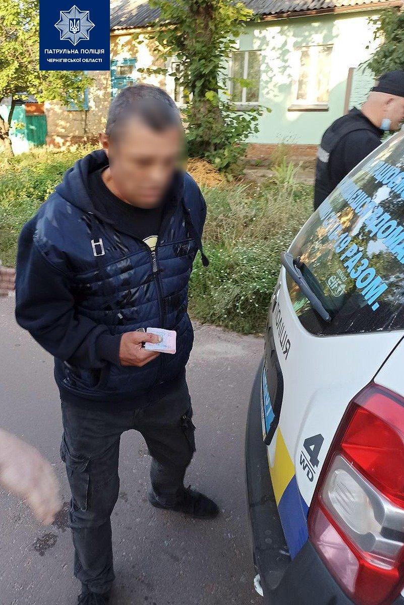 Чернігівець випадково зустрів викрадений у нього мотоцикл та викрадача, фото-2