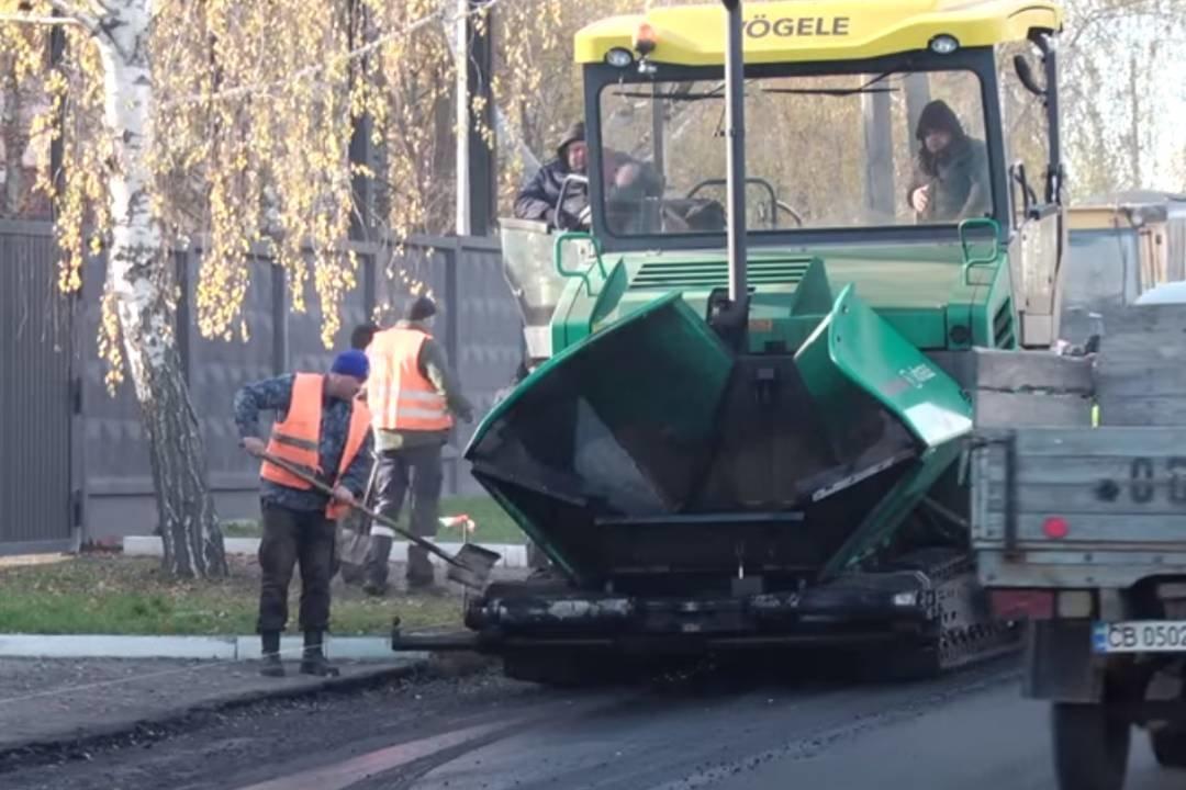 У Чернігові завершують роботи на останній з 37 відремонтованих у 2020 році вулиць, фото-3