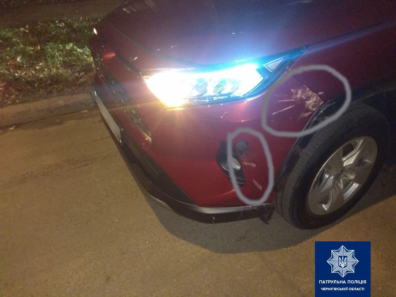 Водій без права керування влаштував ДТП у Чернігові: поліція розшукала порушника, фото-1