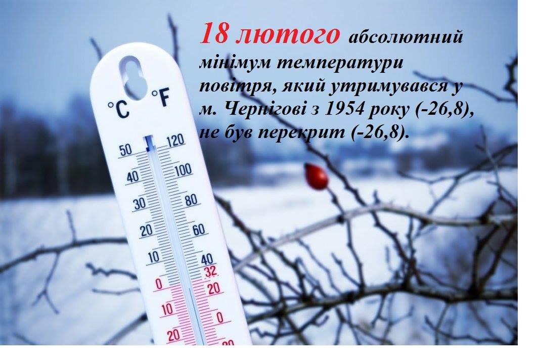 У Чернігові повторився майже 70-річний температурний рекорд , фото-1
