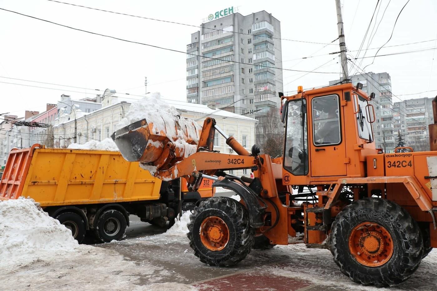 Тотальна чистка: за вихідні з вулиціь Чернігова вивезли більше 6 000 м3 снігу, фото-2