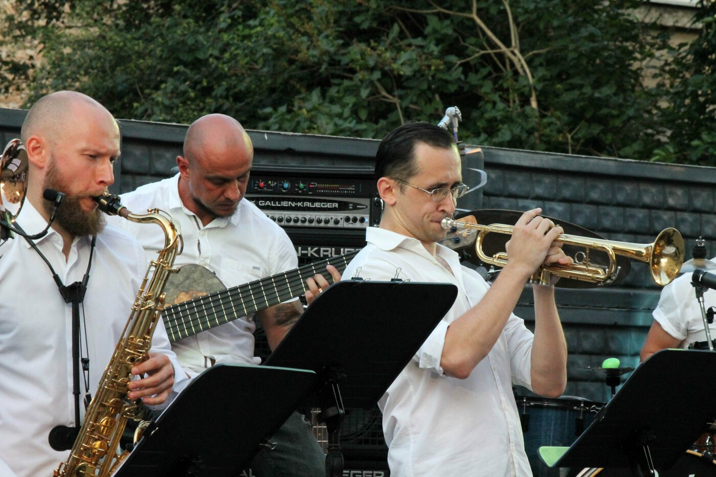 Оновлений склад джаз-бенду «BissQuit» представив слухачам новий проєкт, фото-5